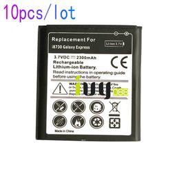 Wholesale Galaxy Express I437 - 10pcs lot 2300mAh EB-L1H9KLA Replacement Battery For Samsung Galaxy Express i8730 SCH-i437 GT-I8730 I8730T I869 Batteries Batteria Baterij