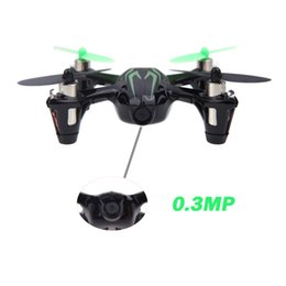 Wholesale Hubsan Quadcopter Fpv - Wholesale-New Hubsan X4 H107C 2.4G 4CH RC RTF Quadcopter with 0.3MP Camera Mini FPV Helicopter