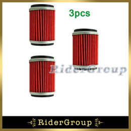 Wholesale Motorcycle Fuel Filters - Wholesale- 3x Fuel Oil Filter For Yamaha WR250F YZ250F WR450F Z450F 2003-2015 WR250X\R 2008-2015 Motorcycle Pit Dirt Trail Bike
