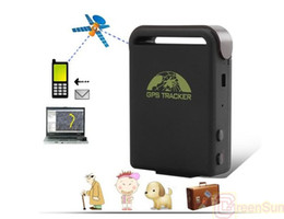 Wholesale Car Gprs Systems - New Mini Spy Car Waterproof Magnet GSM GPRS GPS System Tracker Device TK102B LBS