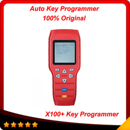 Wholesale Bmw Programming - 2015 2pcs lot X-100+ X100+ PLUS AUTO KEY PROGRAMMER New Remote Controller Programming 100% original free shipping