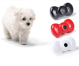 Wholesale Gps Tracker Products - Cute Pet Tracker GPS Trackers Mini Bow Tie MMS Video GSM GPRS Locator Real Time Tracker for Pets Dogs Cats Tracking Pet Products