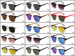 Wholesale Street Frame - HOT High quality New Vintage Round sunglasses Women men brand design High-street Steampunk Glasses uv400 sunglasses