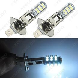 Großhandel White Power Auto LED Nebelscheinwerfer H1 3528/1210 Chip 26SMD Auto LED Glühbirne DC12V # 1905 von Fabrikanten