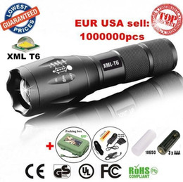 Wholesale Led Dive Torch Rechargeable - G700 ALONEFIRE E17 A100 CREE XM-L T6 led Mini Zoomable Flashlight Torch light lamp with 1x18650 Rechargeable batteries