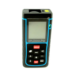 Wholesale Infrared Ruler - 635 nm <1 mW laser rangefinder 100 meters portable laser rangefinder 122 * 45 * 26mm infrared electronic ruler
