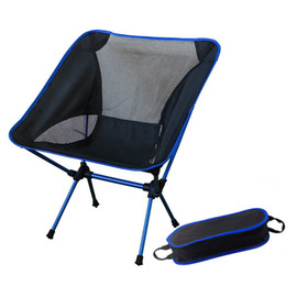 Wholesale Garden Chair Folding - Wholesale-Outdoor Fishing Folding Camping Chair with 600D Oxford fabric and 7075 Aluminum Alloy for Garden,Camping,Beach,Travelling