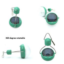 Wholesale Solar Indoor Reading Lights - MJJC 7LED White Solar Powered Reading Outdoor Camping Tent Lantern portable Light for garden