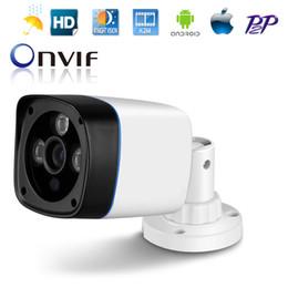 Wholesale Ip Camera Array - ABS Plastic 1MP HD 720P CMOS Waterproof Indoor Outdoor Infrared Night Vision Onvif H.264 1280*720 Array Camera IP CCTV
