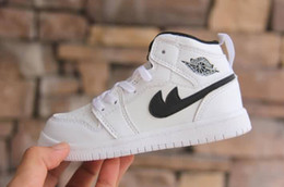 Wholesale Toddlers Fashion Shoes - Top Classic Style Af1 Spring New Fashion Children Shoes Running Boys and Girls Toddler Shoes Baby Kids Sneakers ,Chaussures Pour Enfants