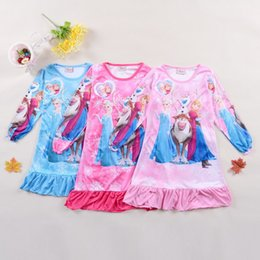 Wholesale Baby Girls Tshirts - Long Sleeve Children T Shirt 2014 Fall New Arrival Cartoon Printing Baby Girl Tshirts Kids clothes B001