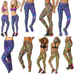 Wholesale Polka Dots Pants - woman dance pants yoga pants long leggings Mashed Up Perfect Long Leggings 2colors free shipping