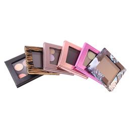 Wholesale Eye Shadow Palette Bag - Wholesale-Empty Magnetic Makeup Palette 6 Types Customizable Eye Shadow Case DIY Cosmetic Bag Drop Shipping