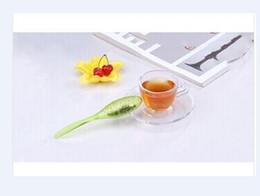 Wholesale Wholesale Tadpoles - Tadpole Tea Spoon Strainer Tea Spoon Teaspoon Infuser Filter