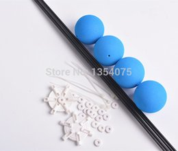 Wholesale Training Kit For Rc Helicopters - Landing Training crash kit With Blue Sponge Balls For Rc F450 3D Heli Helicopter blue color Landing train order<$18no track