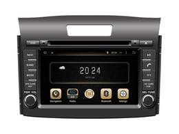 Wholesale Dvd Gps Navigation Crv - Android 4.4 Car DVD Player for Honda CRV 2012-2014 with GPS Navigation Radio Bluetooth TV USB AUX MP3 WiFi Head Unit
