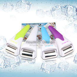 Wholesale roller cooler - Skin Massage Ice Roller for Face and Body Massage facial skin and preventing wrinkles Skin cool