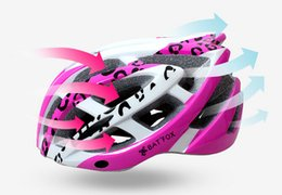 Wholesale Ep Custom - Women Road Bike Bicycle Helmet Safety Cycling Integrated Molding Helmet Bike Head Protect Custom Bicycle Sports Ventilative Helmets