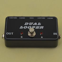Yeni A / B Kutusu Döngü Seçici Switcher yumuşak anahtarı gerçek bypass lüper @ STOKTA Ücretsiz kargo !! nereden