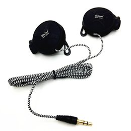Wholesale new player games - New Shini Q940 EarHook Headphones 3.5mm Portable Earphones Headset For Mobile Computer Mp3 Player Game PC