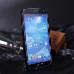 Wholesale Galaxy S4 Thin Bumper - S5Q Luxury Ultra-thin 0.7mm Aluminum Metal Bumper Case For Samsung Galaxy S4 i9500 AAACKA