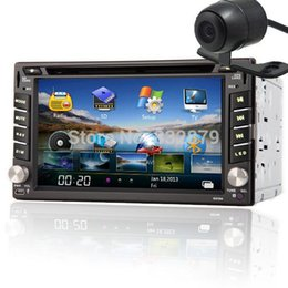 Wholesale Double Din Car Pc Gps - 100% New universal Car Radio Double 2 din Car DVD Player GPS Navigation In dash Car PC Stereo Head Unit video+Free Map+ Camera