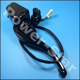 Wholesale Brake Lever Master Cylinder - Wholesale- Buyang Feishen N550 550CC ATV Quad Right Side Hydraulic Brake Master Cylinder Lever