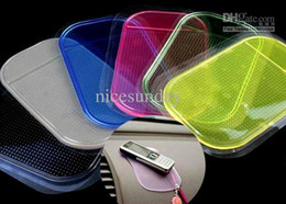 Rote silikon-pads online-Günstige Anti-Rutsch-Matte Rutschfeste Auto Armaturenbrett Sticky Pad Mat Leistungsstarke Silica Gel Magic Silikon Auto Sticky Pad