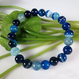 Wholesale Vintage Chinese Bracelet - women ethnic bracelet,new vintage natural blue agate bracelet,fashion chinese jewelry charm agate beads bracelt red