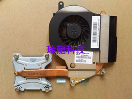 Wholesale Hp G62 Amd Fan - 100% new Original 612355-001 cooler for HP G72 G62 cooling heatsink with fan