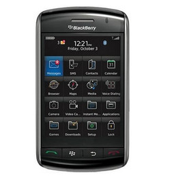 Telefones touchscreen on-line-9500 Original Desbloqueado Blackberry Storm 9500 3G 1400mAh 360 x 480 pixels, 3,25 polegadas Refurbished Telefone Móvel TFT touchscreen capacitivo