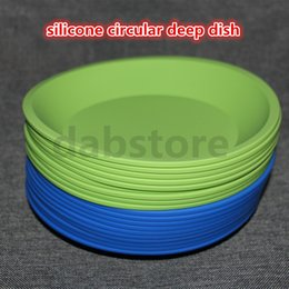 Wholesale Tools For Shaping Food - wholesale New Round and square shape Food grade silicone dish container,Silicone deep dish container for Food Fruit wax
