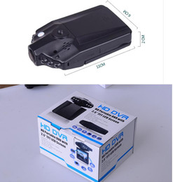 Wholesale Manufacturer Car Dvr - recorder tachograph driving recorder HD car manufacturers 1280P2.5 inch LCD Vehicle Car DVR Recorder 6 LED lights with audio and Nig