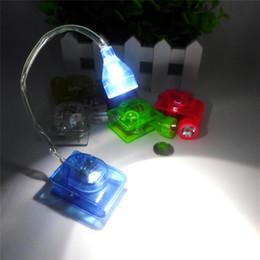 Wholesale Clip Electronic - Mini LED Clip Light LED Book Light Adjustable LED Electronic Book Light Clip Book Lights Folding Reading Lamp Table Lamp