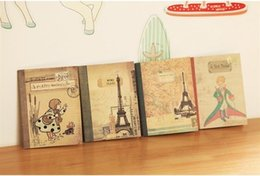 Wholesale memo pad vintage - Free Shipping   New vintage style prince series notebook  memo pad , dandys