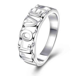 Wholesale Lord Rings Jewellery - Free Shipping wholesale 2016 New joyas de plata 925 lord of the rings Pierced LOVE anel masculino Costume Jewellery