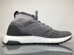 Wholesale Real Table - 2017 Ultra Boost ATR Mid Grey CG3000 Running Shoes Real Boost Endiess Energy Sneakers for Mens 4 Colors Oreo MID Boots Ultraboost Originals