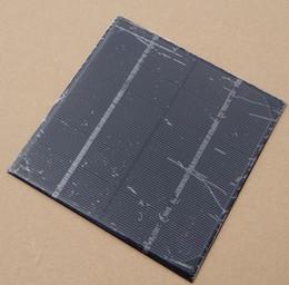Alta calidad 4.5 W 6 V Célula Solar monocristalina del panel solar DIY Módulo Cargador Solar kits de Educación Epoxi 165 * 165 * 3 MM envío gratis desde fabricantes