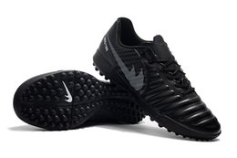 Wholesale Iv 11 - Supply 2018 Men Soccer Cleats Tiempo Legend VII FG Indoor Soccer Shoes Low Tiempo Ligera IV IC TF Turf Mens Size US 5-11 DHL Free