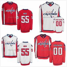 Wholesale Hockey Jerseys 79 - Aaron Ness Jersey 55 Nathan Walker 79 Madison Bowey 22 Christian Djoos 29 Devante Smith-Pelly 25 Ice Hockey Jerseys Washington Capitals S-3X