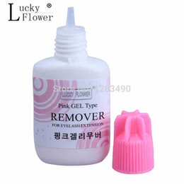 Wholesale Type Lashes - Wholesale-Eyelash Extension Glue Remover Gel type for lashes 15ml made in korea  Scent
