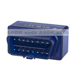 Wholesale Car Computer Diagnostic Tester - Wholesale-HOT!Car Diagnostic Scan Tool OBD2 ELM327 C2 Mini Bluetooth V1.5 car diagnostic tester trip computer,tracking code(Free Shipping)