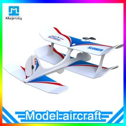 Wholesale Model Airplane Radio - Majesty Authentic Aircraft Uplane Bluetooth 4.0 Mobile Phone Gravity Sensing RC Airplane Model Mini Fixed-wing Plane