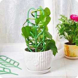 Gemüse steht online-Neue design 3 teile / satz pflanze spalier klettern garten diy blume dekorative reben pflanzen unterstützung topf stehen pflanzen grün obst gemüse spalier