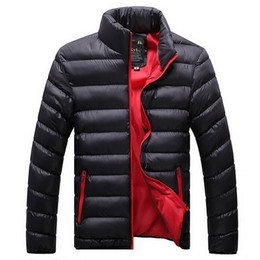 Wholesale Thin Breathable Coat - Hot Sale Men Casual Warmer Jackets Solid Thin Breathable Winter Jacket 2016 Outdoors Coat Lightweight Plus Size XXXXL Parka