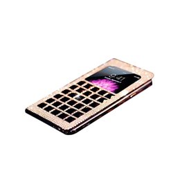 Wholesale Iphone Case Folio Pink - S5Q Cover Skin Deluxe Bling Diamond PU Leather Folio Case For Apple IPhone 6 4.7 AAAEIA