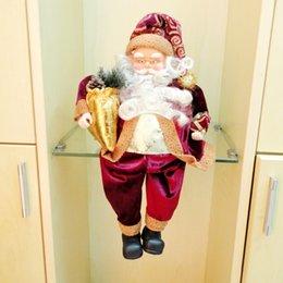 Wholesale Trumpet Santa Claus - Wholesale-Free Shipping christmas 2015 christmas decoration supplies santa claus,christmas supplies trumpet,christmas ornament,natal MC02