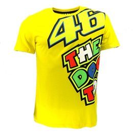 Wholesale Vr Shirt - Wholesale-2015 Free Shipping MOTO GP Rossi VR 46 Summer T-shirt Motorcycle Racing Short Sleeve T Shirt Men Personality Casual T shirt Vest
