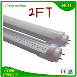 Wholesale T8 Tube Cheap - X20 cheap and fine Free Shipping 600mm 0.6m 2ft tube 12w led T8 tube lamp Top quality SMD 2835 Epistar 1200lm CE & ROHS sunlights