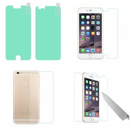 Wholesale Ultimate Iphone - For Iphone 7 7Plus 6 6S 4.7 Plus 4 4S 5 5S SE BUFF Ultimate 2in1 Front+Back Screen Protector Full Body Shock Absorption With Retail Package